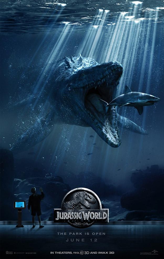 Otro de los nuevos carteles de Jurassic World