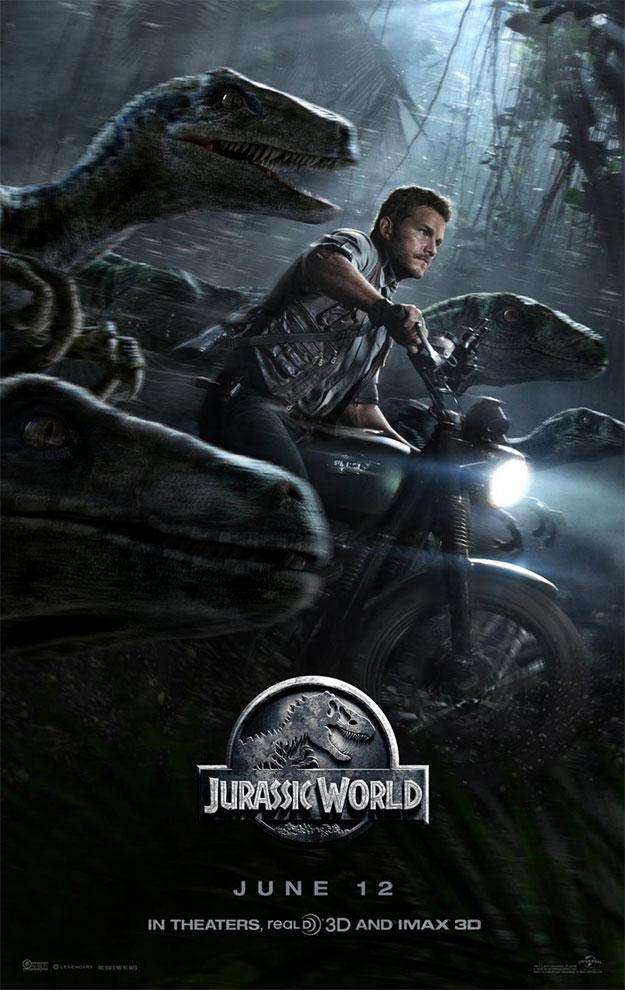 El nuevo cartel de Jurassic World