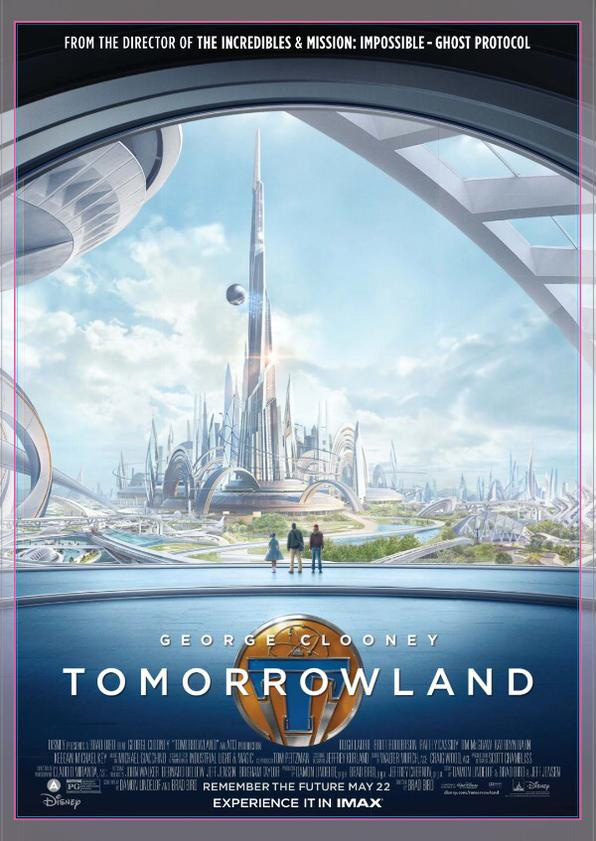 Cartel IMAX de Tomorrowland