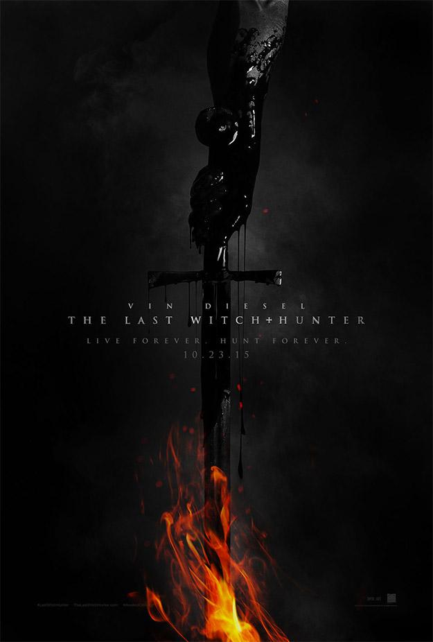 Primer cartel de The Last Witch Hunter