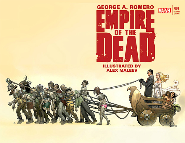"""""""Empire of the Dead"""" de George A. Romer y Alex Maleev... a televisión"""