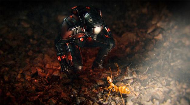 Ant-Man y una simpática nueva amiga