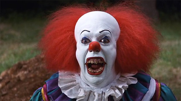 Sonrisa profident en It... Tim Curry mode