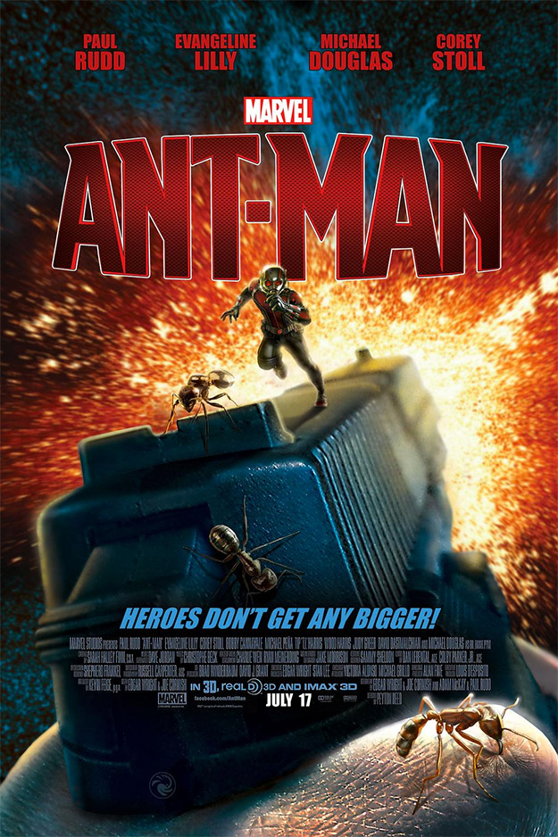 Cartel fan made de Ant-Man obra de @RobCsiki... flipante