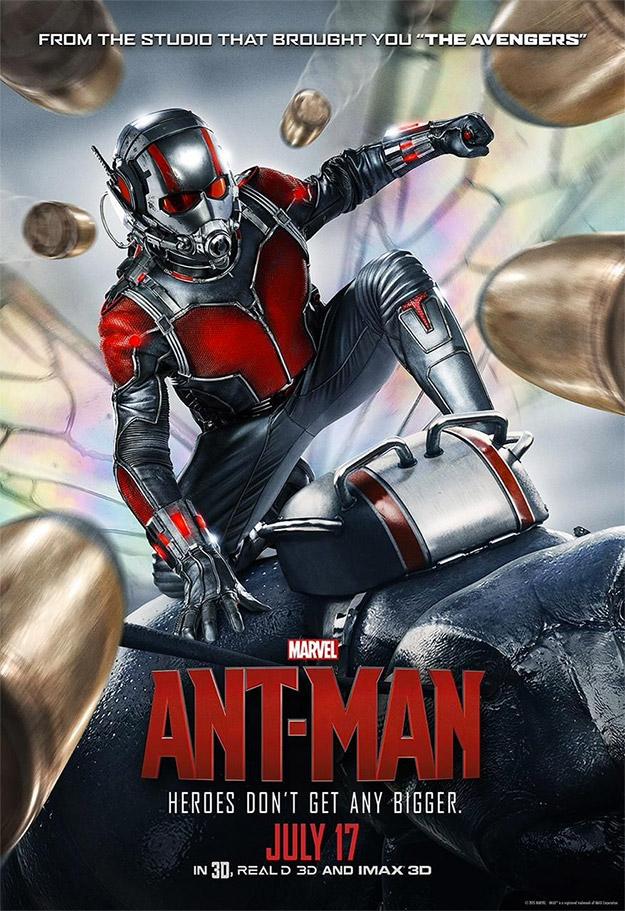Cartel de Marvel Studios para Ant-Man... mola