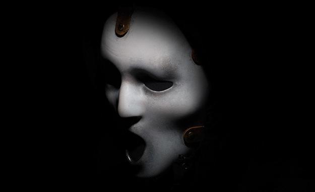 """La máscara del nuevo Ghostface de la serie de televisión """"Scream"""""""