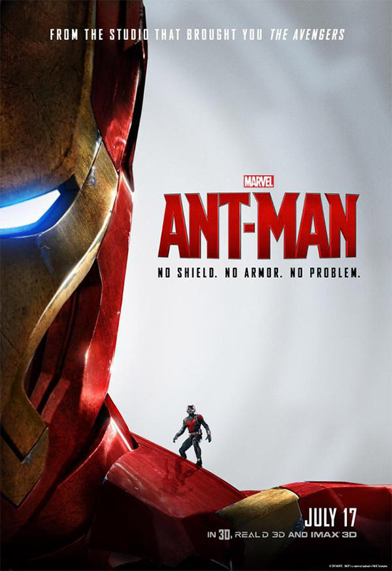 Ant-Man en Iron Man