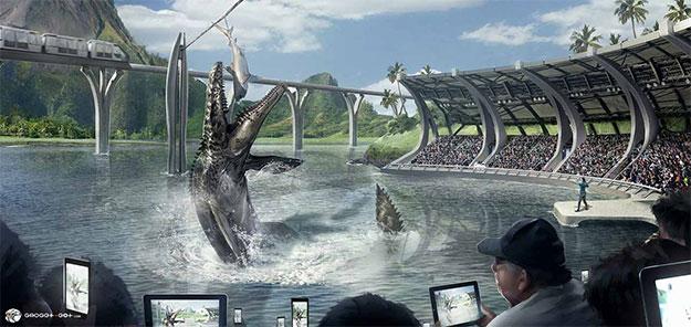 Concept art de Jurassic World