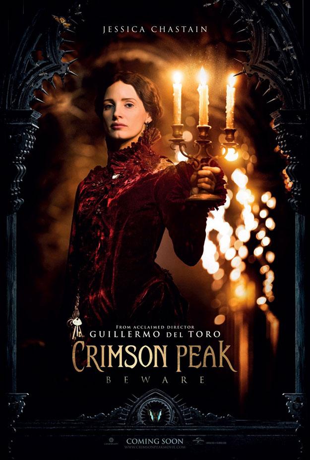 Cartel de Crimson Peak