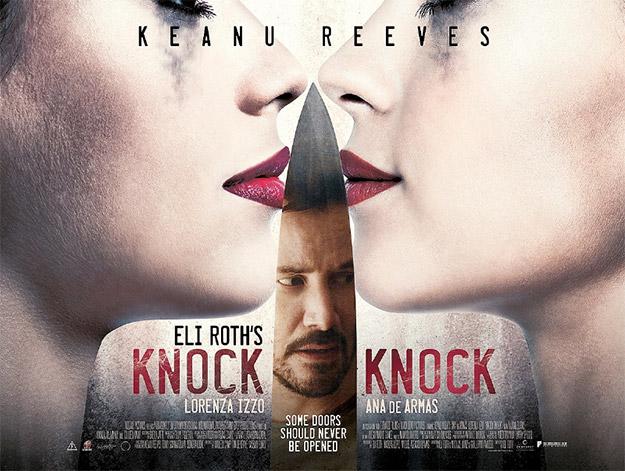 Nuevo cartel de Knock Knock... o el primero