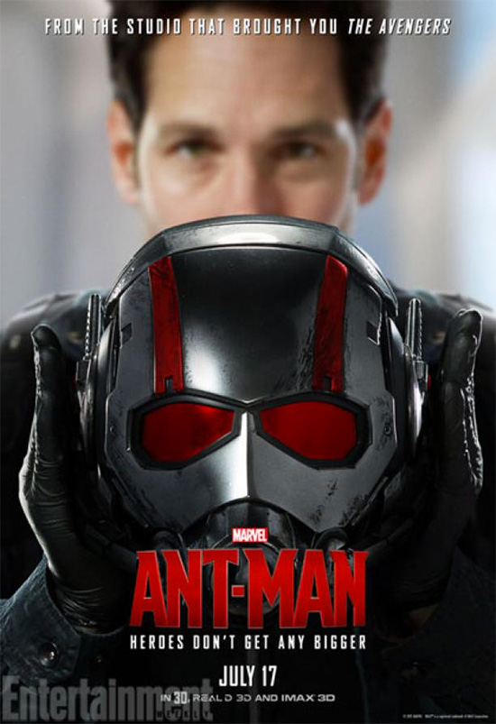 Un nuevo cartel de Ant-Man... el resto son horribles