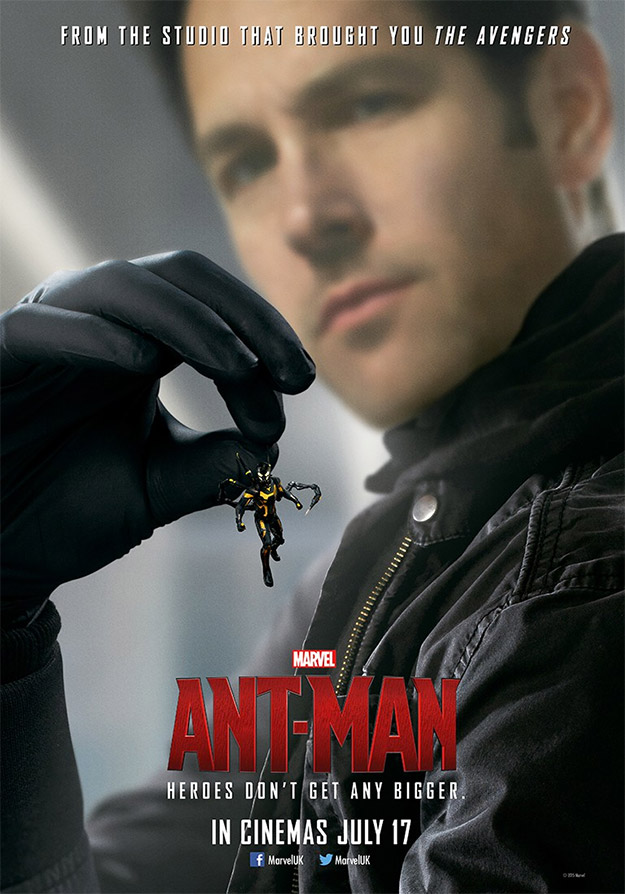 Otro superoriginal cartel de Ant-Man, Marvel Studios está que lo tira!