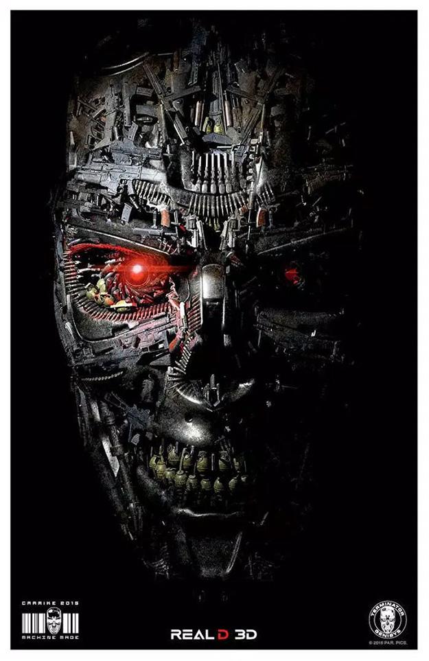 Cartel, curioso, de Terminator: Génesis