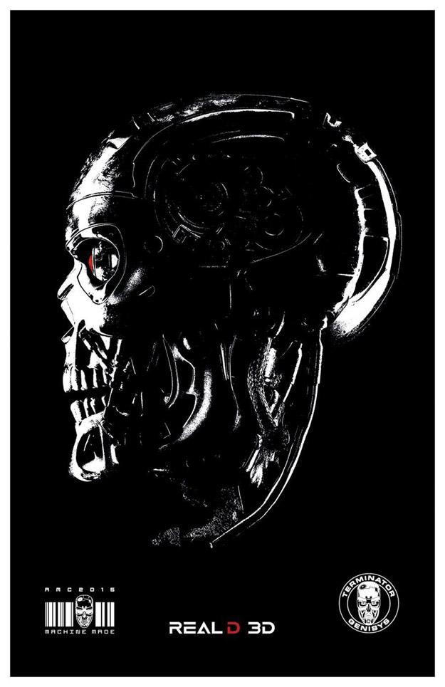 Y otro cartel más de Terminator: Génesis... estilo raruno