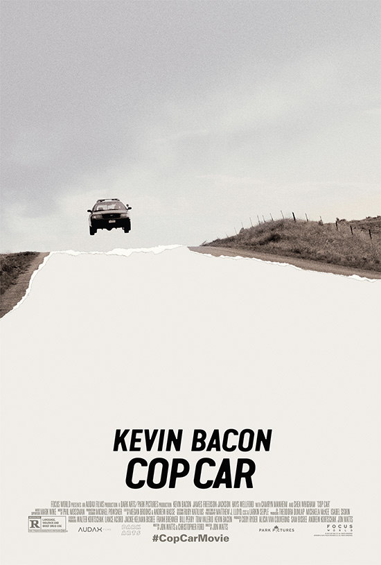 Cartel de Cop Car de Jon Watts