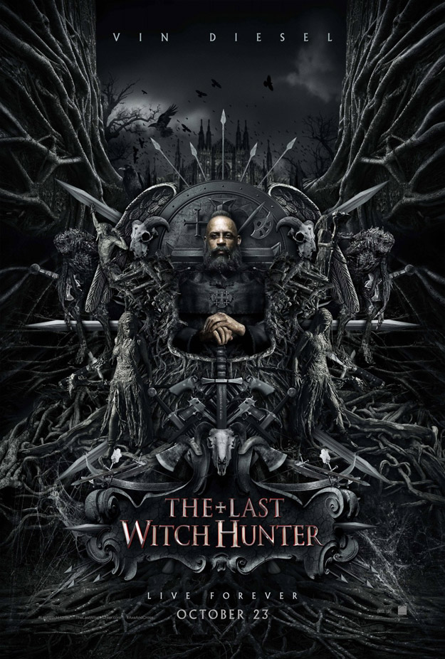 Vin Diesel, antes, en The Last Witch Hunter