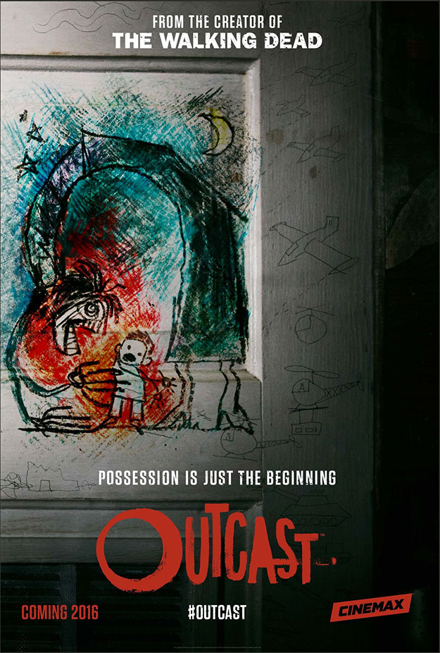 "Cartel de ""Outcast"""