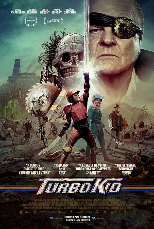 Genial nuevo cartel de Turbo Kid