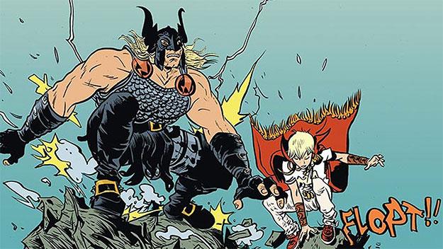 """¡""""Battling Boy"""" de Paul Pope... un must read en toda regla!"""