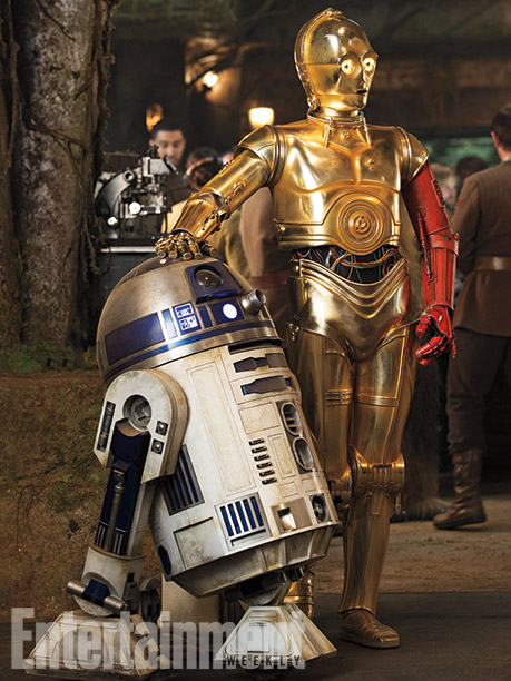 R2-D2 y C3PO (Anthony Daniels)