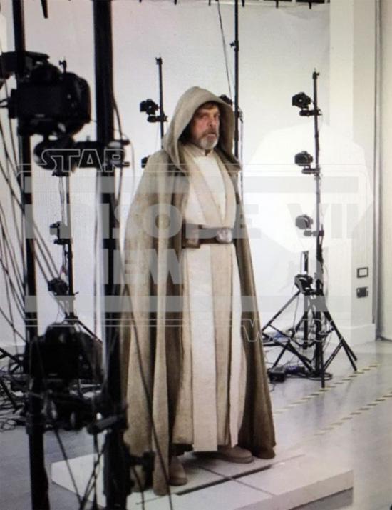Saludad a Luke Skywalker en Star Wars: El Despertar de la Fuerza