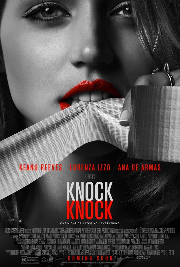 Uno de los nuevos carteles de Knock Knock de Eli Roth