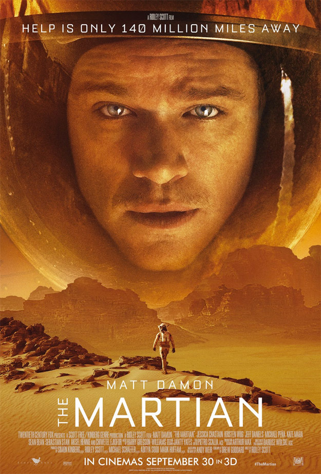 Matt Damon perdido en Marte... The Martian