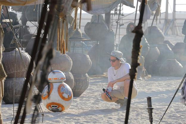 El rodaje de Star Wars: El Despertar de la Fuerza