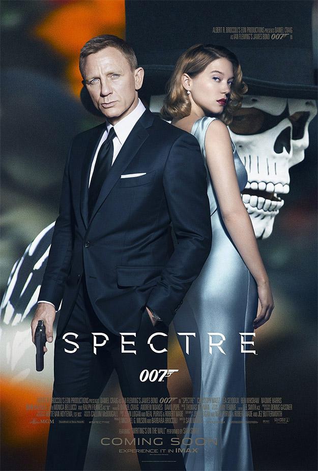 Un nuevo cartel IMAX de SPECTRE... mola y ya está