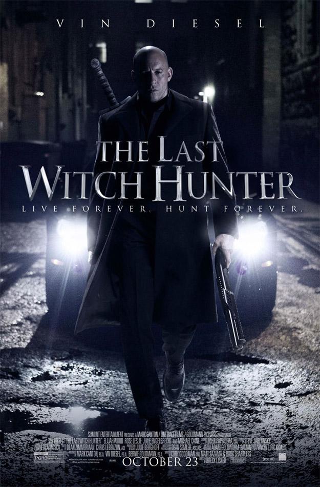 Parará papá, parará pachín... Vin Diesel en El último cazador de brujas