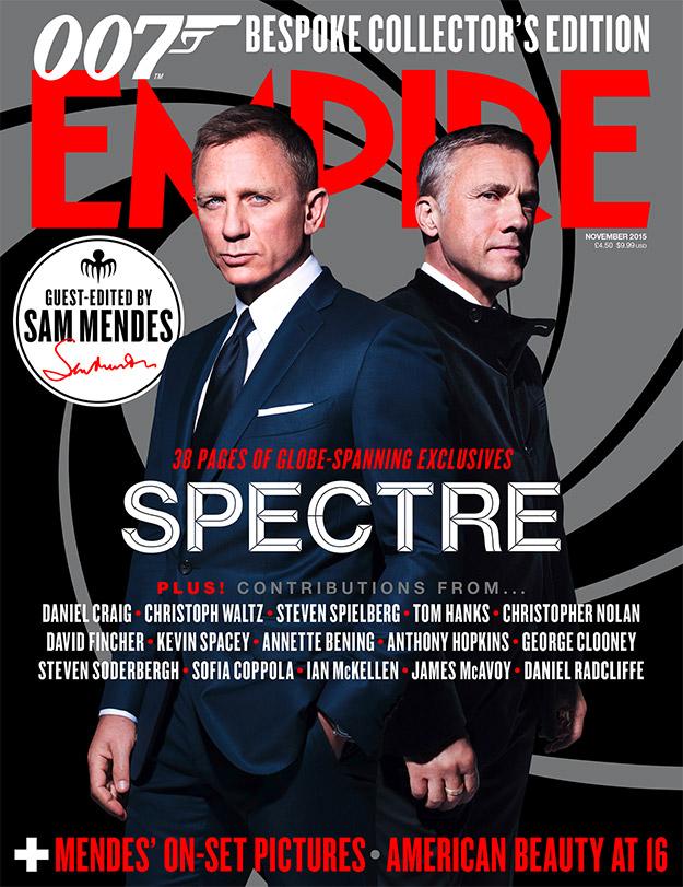 La nueva portada de Empire es para SPECTRE