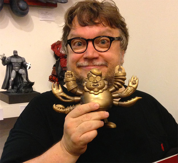 Guillermo del Toro en la inauguración de la muestra Guillermo del Toro: In Service Of Monsters