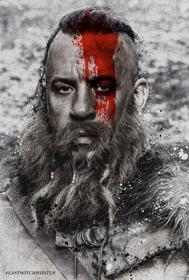 Vin Diesel, un poco pesadito en la promoción de El último cazador de brujas