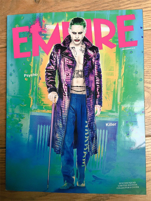 Jared Leto como el Joker más colorista posible para Suicide Squad