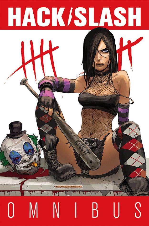 Una portada del cómic Hack/Slash