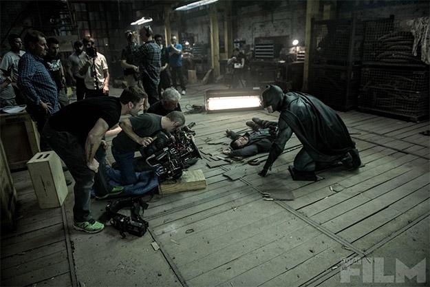 imágenes del rodaje de Batman v Superman: El Amanecer de la Justicia