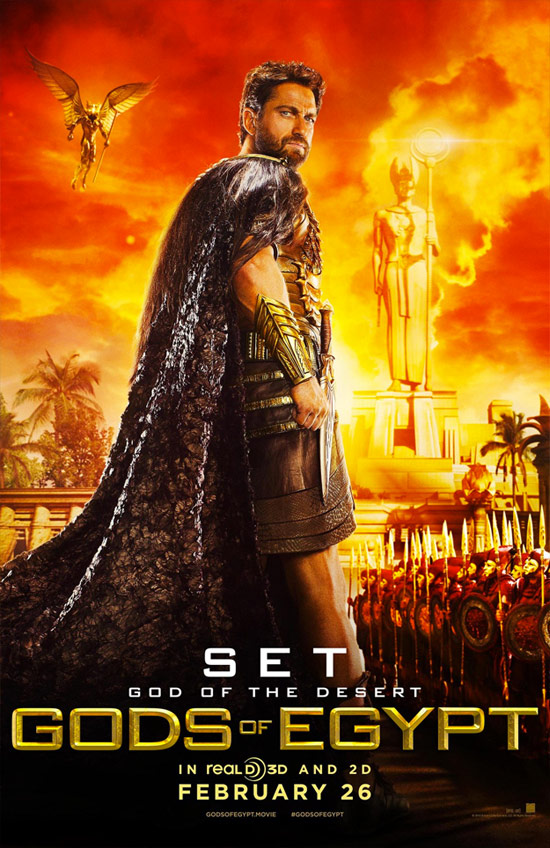 Cartel de Gods of Egypt
