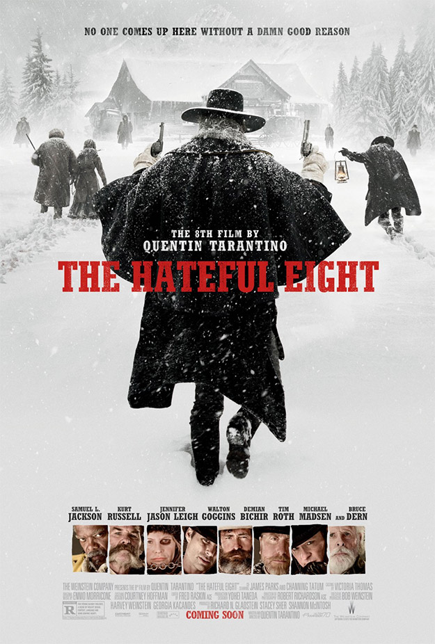 El cartel navideño de The Hateful Eight de Quentin Tarantino