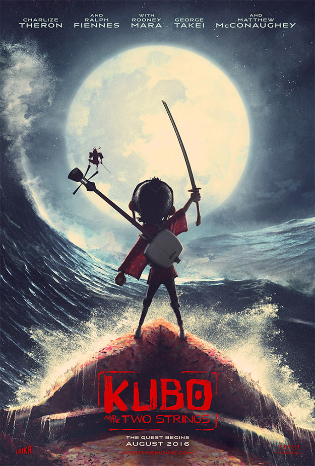 Primer cartel de Kubo and the Two Strings