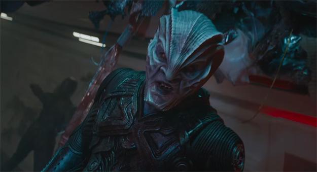 Os presento a Krall, digo Idris Elba, en Star Trek: más allá