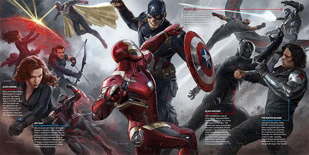 Nuevo concept art de Capitán América: Civil War con todos su implicados