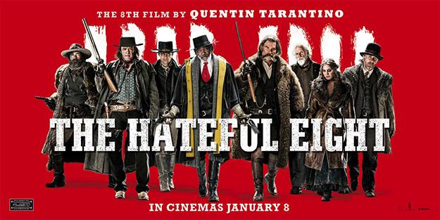 Otro panorámico cartel de Los odiosos ocho