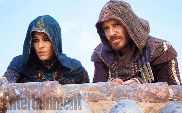 Ariane Labed y Michael Fassbender en la primera imagen oficial de Assassin's Creed