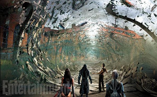 Interesante detalle de concept art de X-Men: Apocalipsis