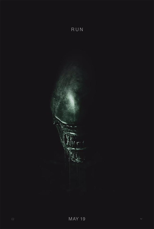 El primer escueto y perfecto cartel de Alien: Covenant