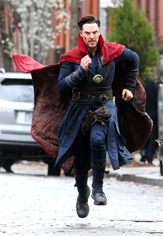 Benedict Cumberbatch como Stephen Strange