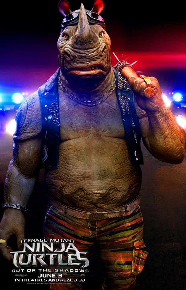 Así será Rocksteady en Teenage Mutant Ninja Turtles: Out of the Shadows
