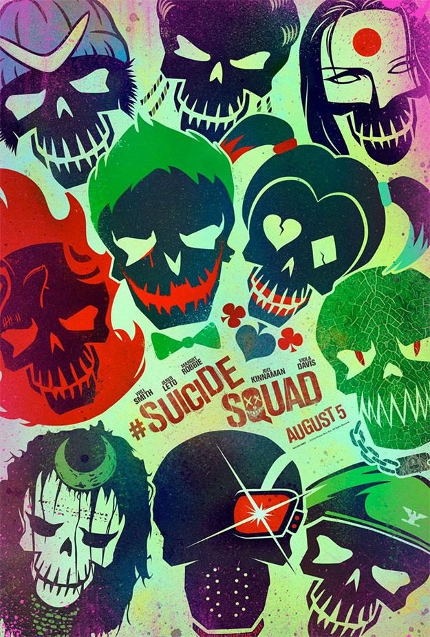 ¡Todos juntos, el Escuadrón Suicida al completo!