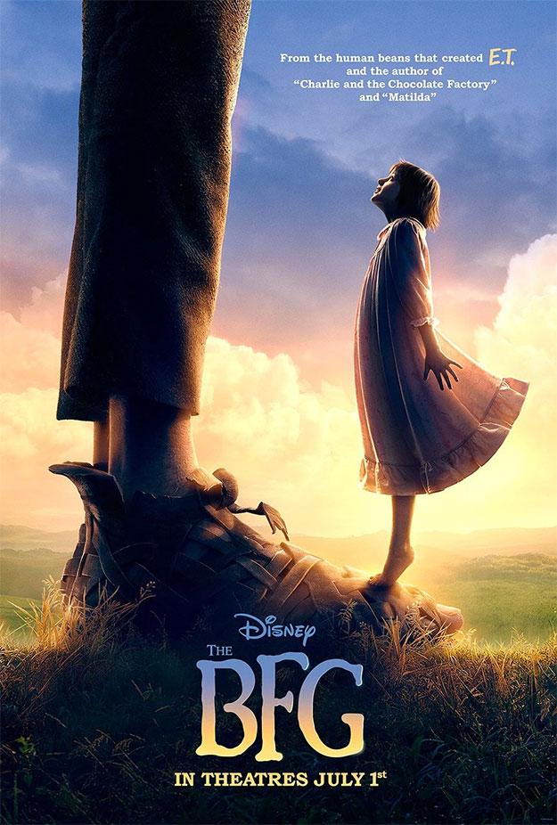 Otro cartel de The BFG de Steven Spielberg