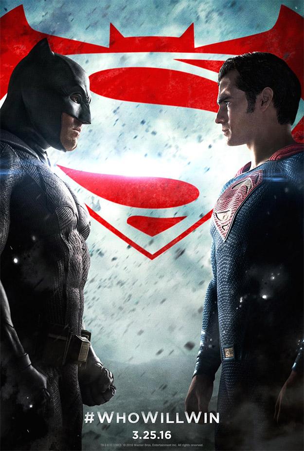 Uno de los pocos carteles de Batman v Superman: El Amanecer de la Justicia